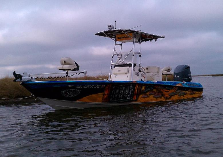 New Boat Wrap!!!