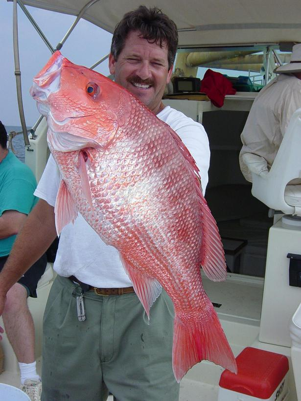 Dude and Red Snapper!!!